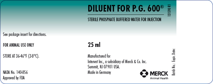 PRINCIPAL DISPLAY PANEL - 25 mL Diluent Vial Label