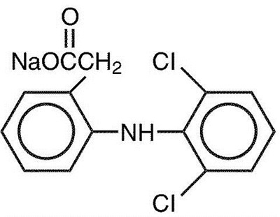 Diclofenac Chem Structor