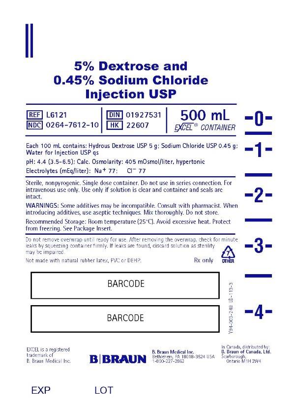 500 mL Container Label L6121