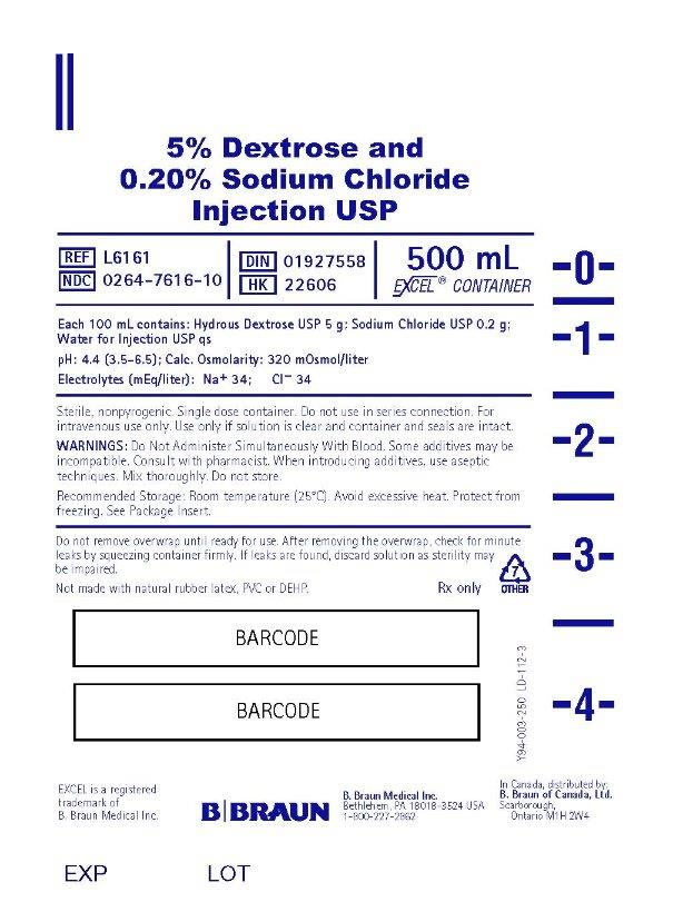 500 mL Container Label L6161