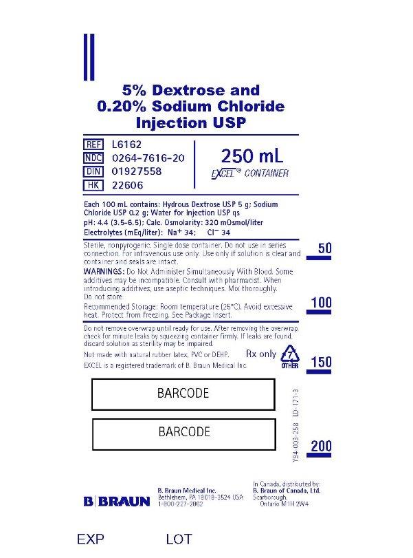 250 mL Container Label L6162