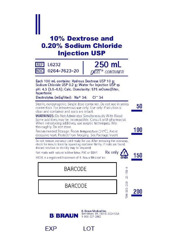 250 mL Container Label L6232