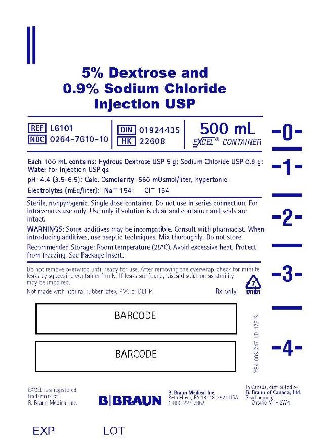 500 mL Container Label L6101