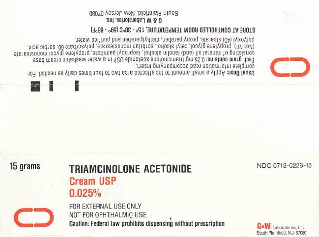 Triamcinolone Acetonide | Gw Laboratories, Inc. Breastfeeding