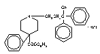 Diphenoxylate structural formula