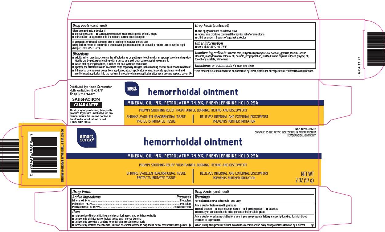 Smart Sense Hemorrhoidal | Mineral Oil, Petrolatum, Phenylephrine Hcl Ointment Breastfeeding