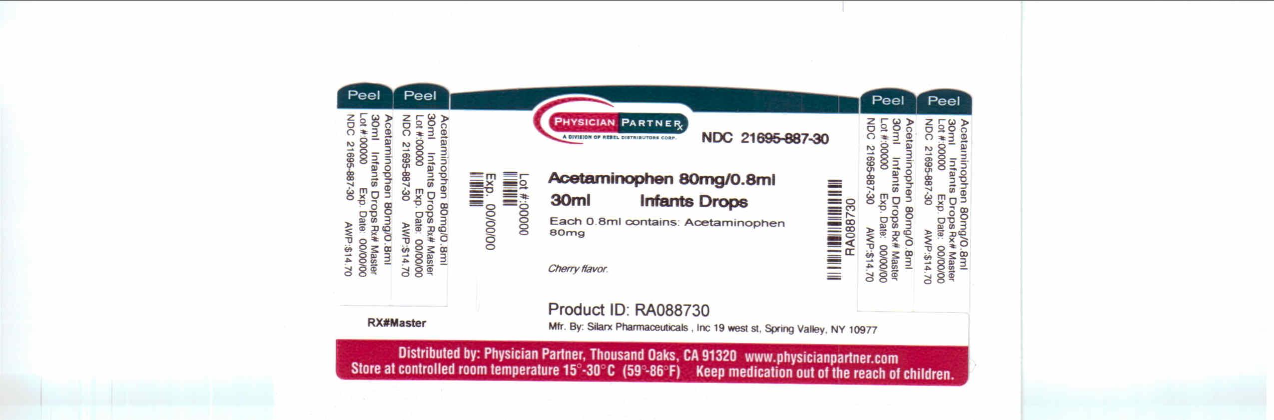 Infants Silapap | Acetaminophen Solution/ Drops Breastfeeding