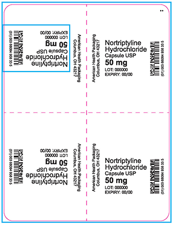 50 mg Nortriptyline Hydrochloride Blister