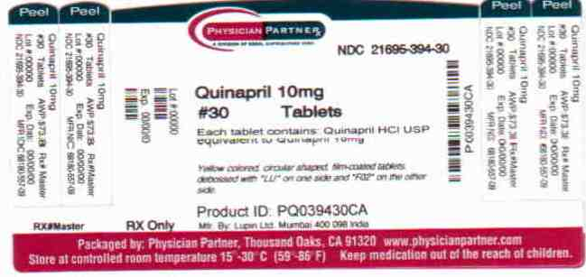 Quinapril 10mg