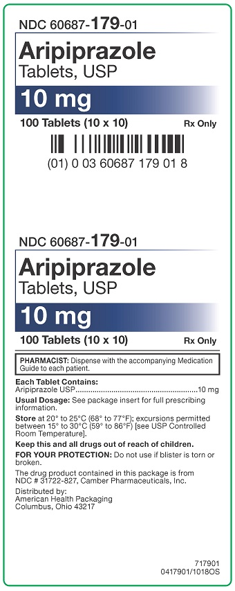 10 mg Aripiprazole Tablets Carton