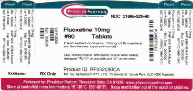 Fluoxetine 10 mg