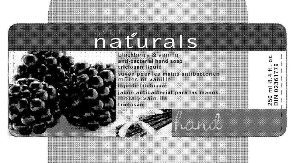 Naturals Blackberry And Vanilla Anti-bacterial Hand   Triclosan Liquid Breastfeeding