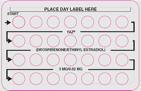 Yaz | Drospirenone And Ethinyl Estradiol Kit safe for breastfeeding