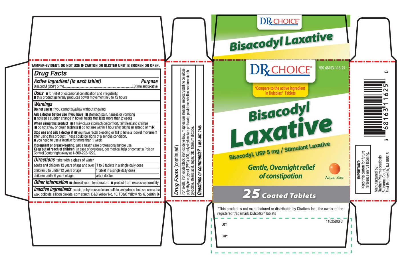 DRx Choice Bisacodyl Laxative
