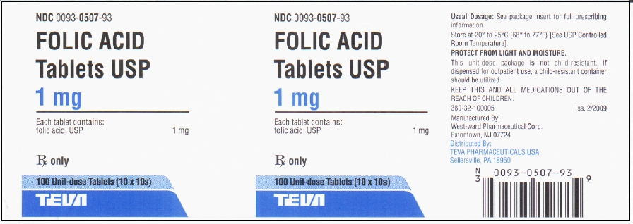 Is Folic Acid | Teva Pharmaceuticals Usa Inc safe while breastfeeding