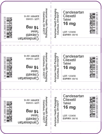 16 mg Candesartan Cilexetil Tablet Blister