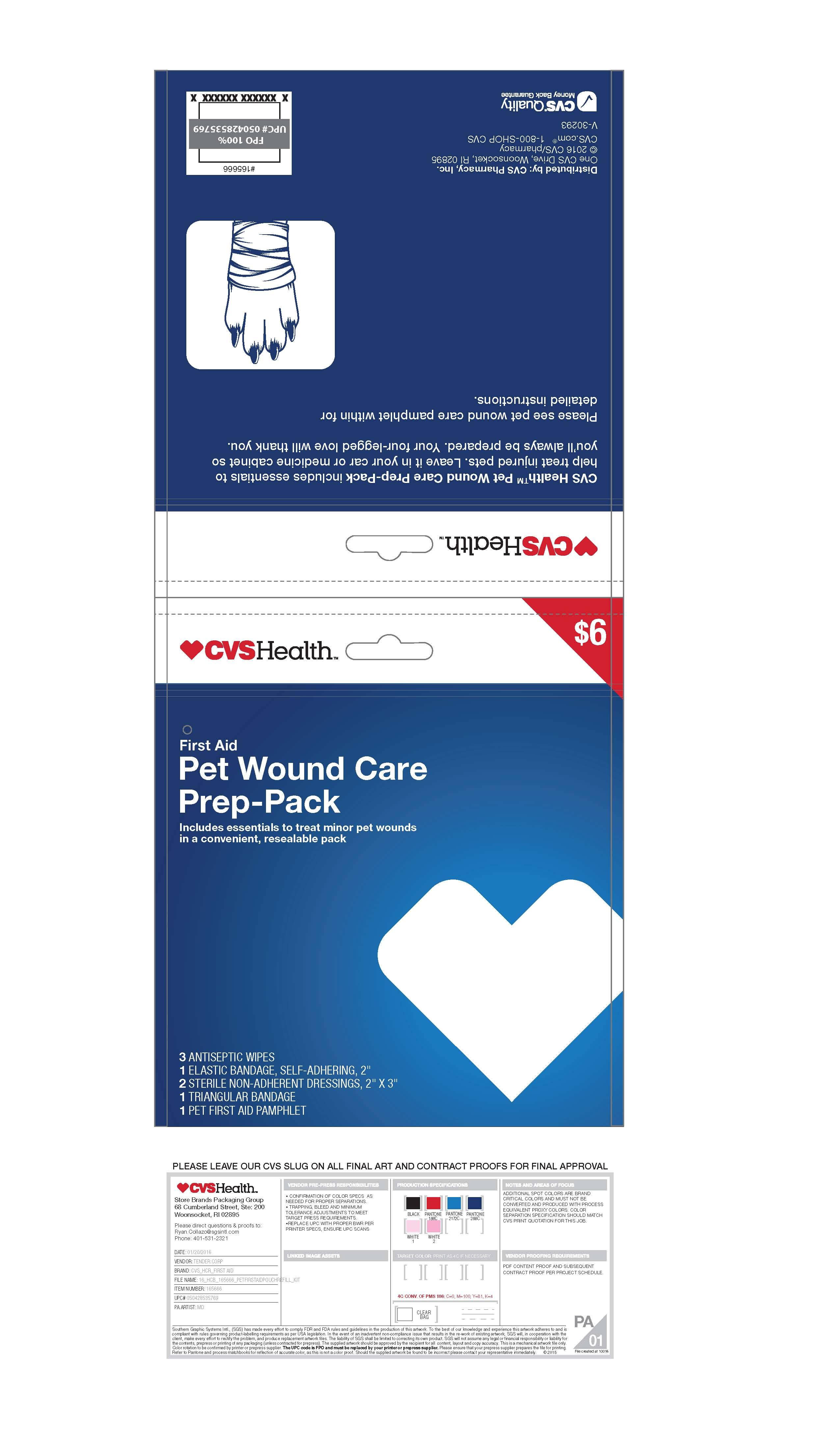 Cvs Pet Wound Care Prep Pack