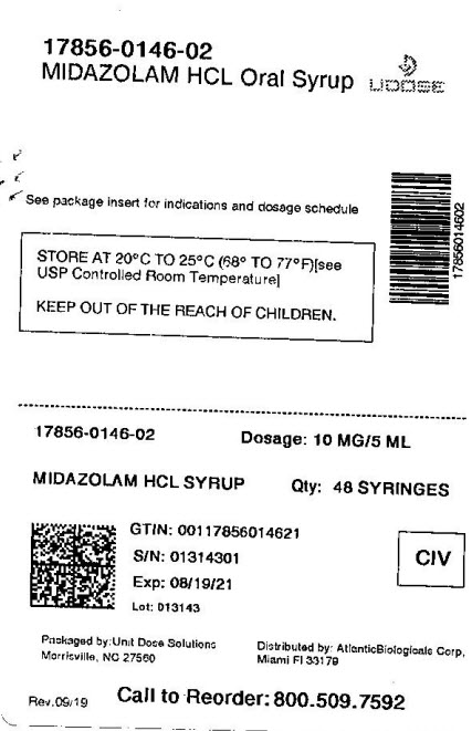 Midazolam Hydrochloride | Atlantic Biologicals Corp. while Breastfeeding