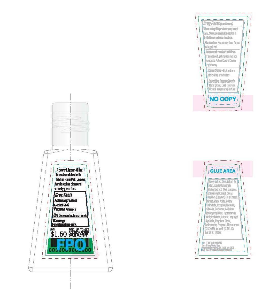 Is Anti-bacterial Hand Wild Honeysuckle   Alcohol Gel safe while breastfeeding
