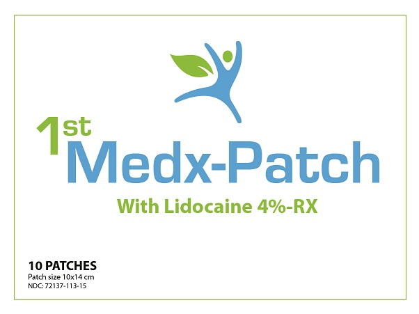 1st Medx_Patch_LBL_Front_10 count
