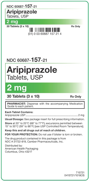 2 mg Aripiprazole Tablets Carton