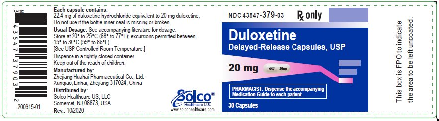 Container label 20 mg