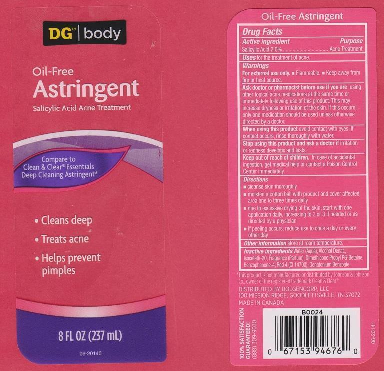 Dg Body Tonic   Salicylic Acid Liquid Breastfeeding