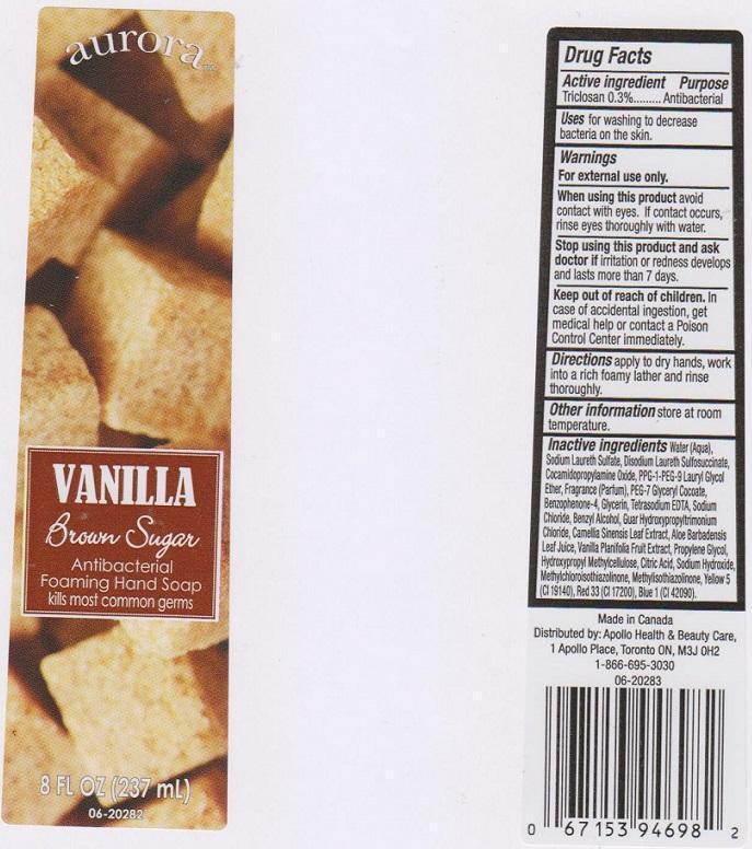 Aurora Antibacterial Vanilla Brown Sugar | Triclosan Liquid while Breastfeeding