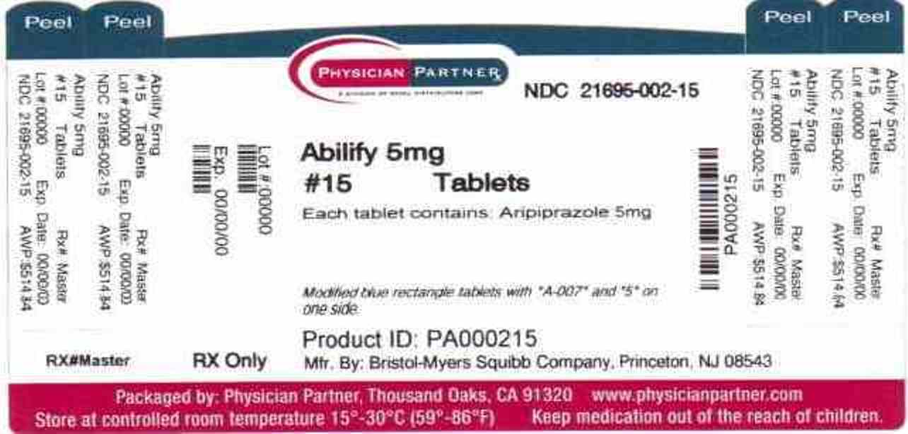 Abilify 5mg Label