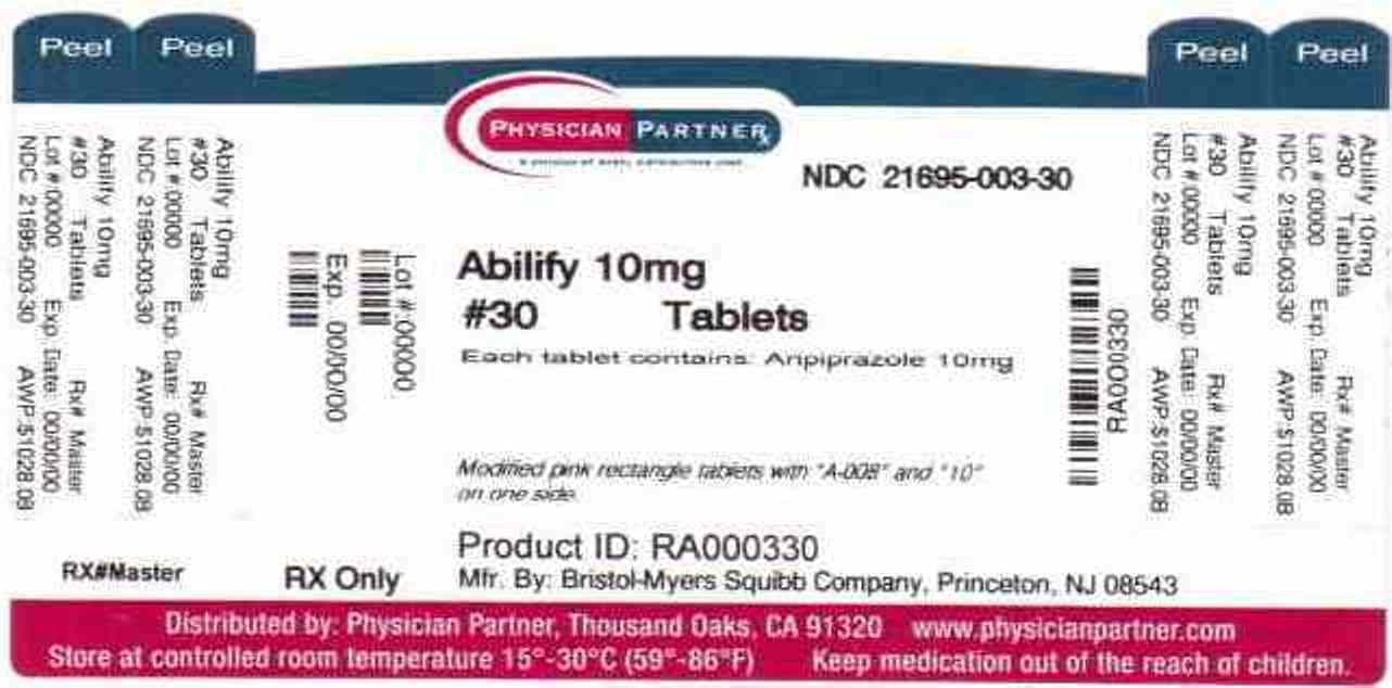 Abilify 10mg Label