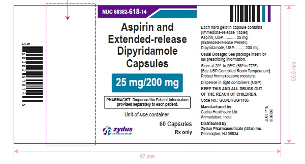Aspirin and Extended-release Dipyridamole Capsules