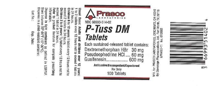 P-tuss Dm   Dextromethorphan Hydrobromide, Pseudoephedrine Hydrochloride, Guaifenesin Tablet Breastfeeding