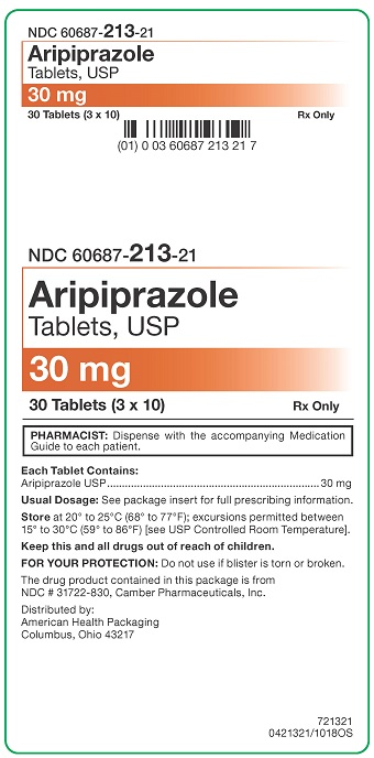 30 mg Aripiprazole Tablets Carton