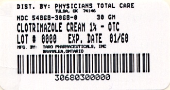 image of 30 gram package label