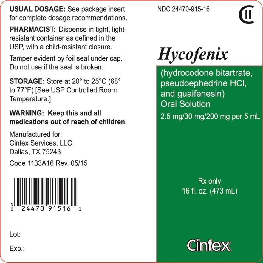 Hycofenix   Hydrocodone Bitartrate, Pseudoephedrine Hydrochloride And Guaifenesin Solution Breastfeeding