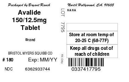 Avalide | Irbesartan And Hydrochlorothiazide Tablet Breastfeeding
