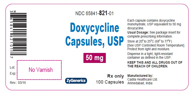 Doxycycline Capsules 50 mg