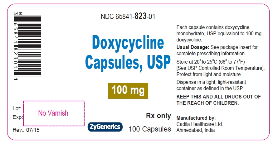 Doxycycline Capsules 100 mg