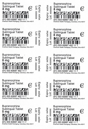 4 mg Buprenorphine Sublingual Tablet Blister