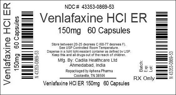 Is Venlafaxine Hydrochloride Venlafaxine 80 Mg safe while breastfeeding