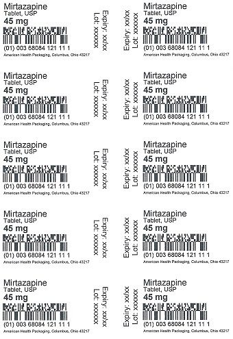 45 mg Mirtazapine Tablet Blister