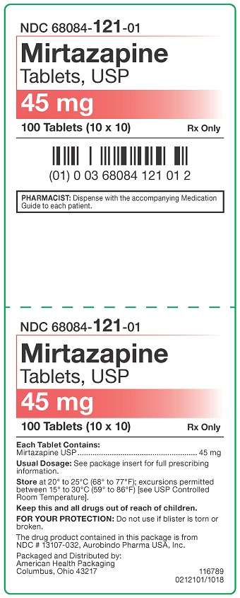 45 mg Mirtazapine Tablets Blister