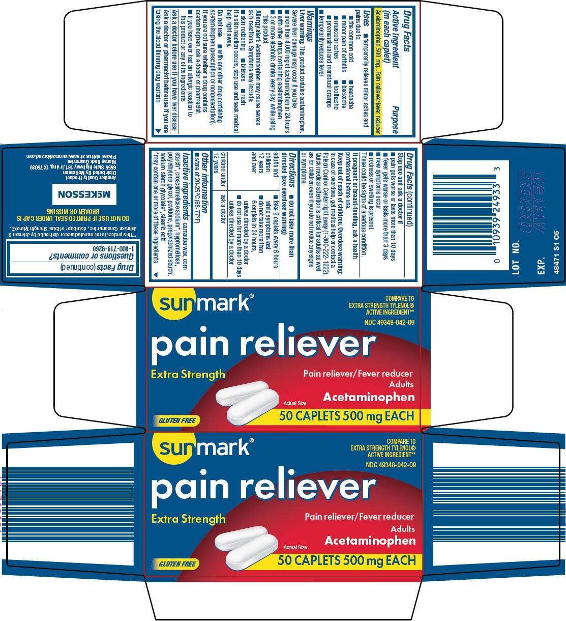 SUNMARK PAIN RELIEVER EXTRA STRENGTH