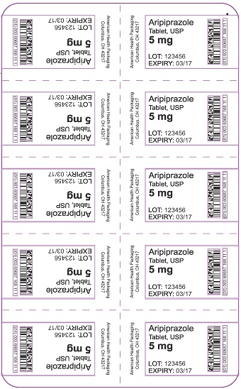 5 mg Aripiprazole Tablet Blister
