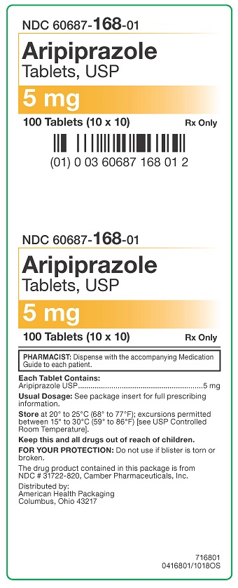 5 mg Aripiprazole Tablets Carton