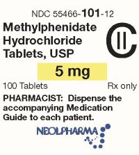 5 mg 100s label