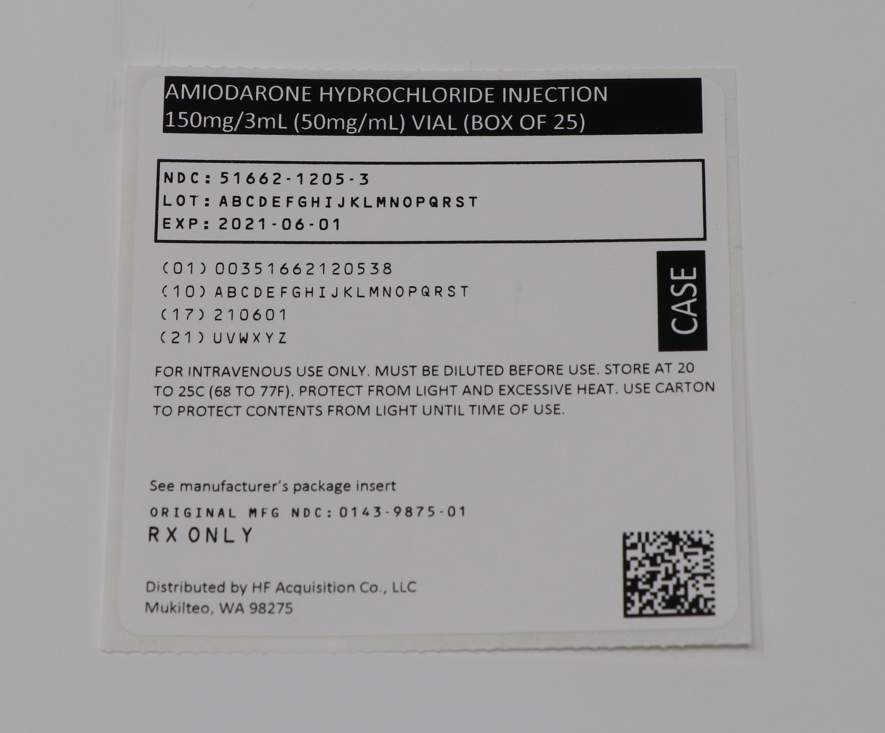 Serialized Case Label