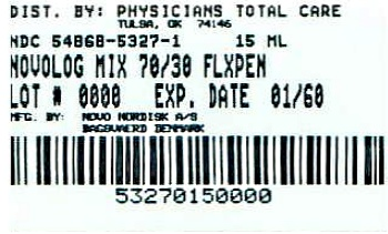 image of 15 mL package label
