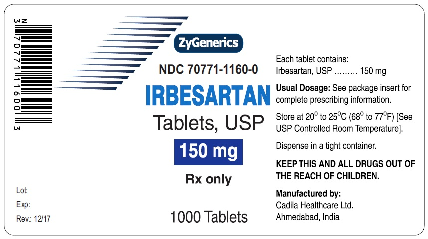 Irbsertan Tablets USP, 150 mg