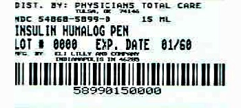 image of pen package label